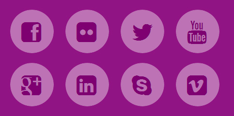 Spinning social icons hover effect using CSS and HTML - Gadgetronicx