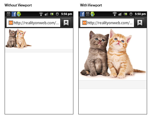 Meta Tag Configuring Viewport In Responsive Web Design Reality On Web