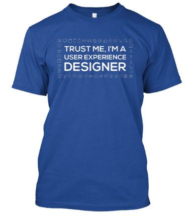 UX designer Shirt Image